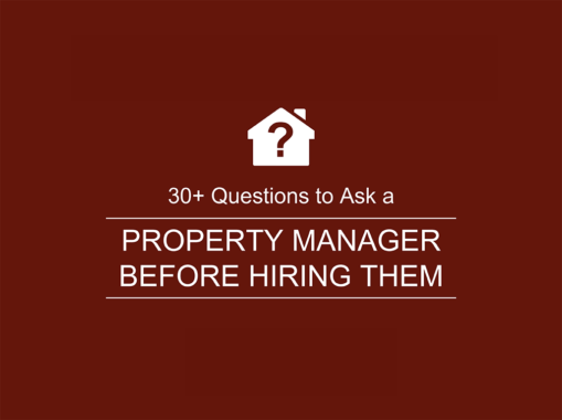 30+ Questions to Ask A Property Manager Before Hiring Them