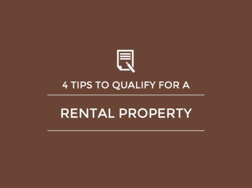 4 Tips to Qualify for a Rental Property