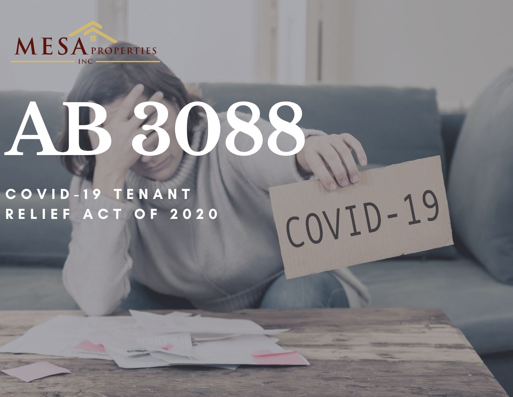 AB3088 - No Evictions In The Inland Empire And High Desert Until 2021?